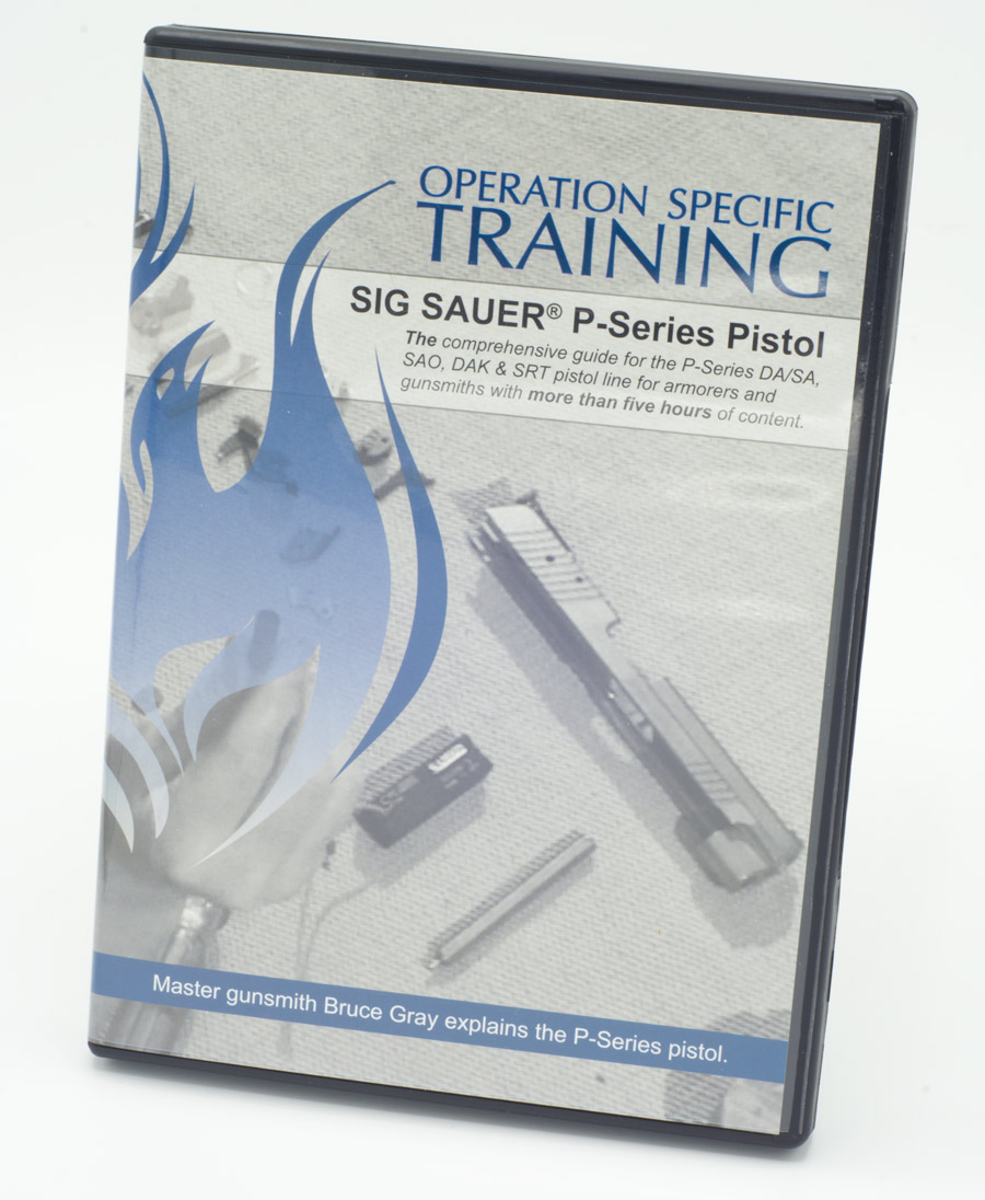Sig Sauer Armorer S Video Opspec Training