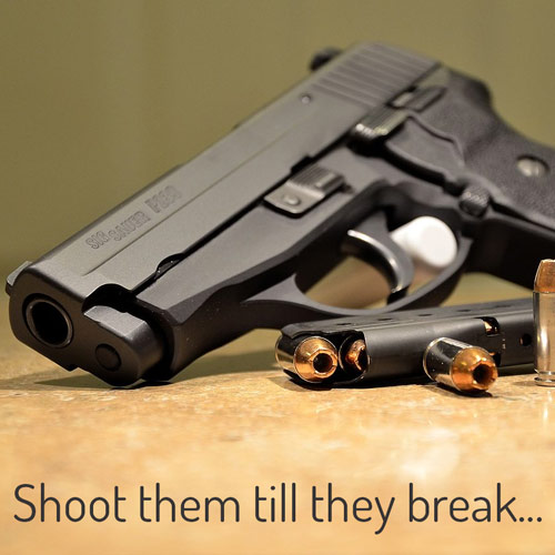 Gun Parts - Shoot them till they break