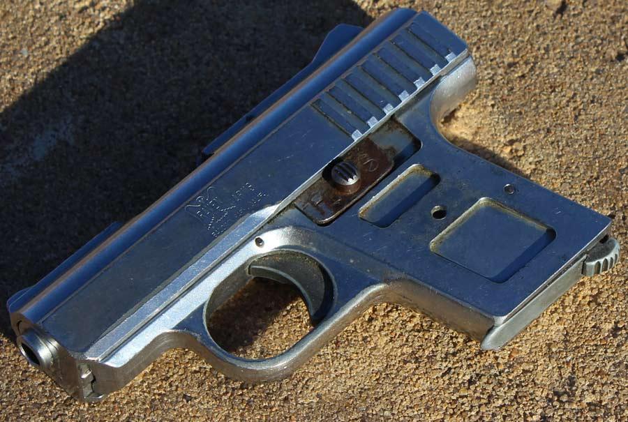 micro semi-auto pistol